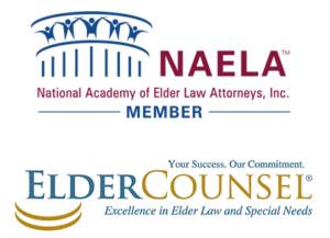 NAELA, ElderCounsel and association badges