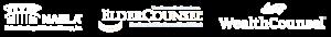 NAELA, ElderCounsel and WealthCounsel association badges